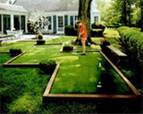 How To Build A Putting Green In Backyard by Indoor Putting Green Plans