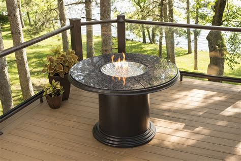outdoor pit tables new product dining height grand colonial pit table