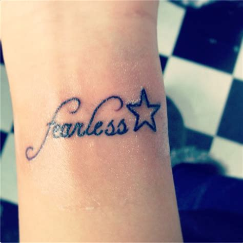 fearless wrist tattoo 28 adorable fearless wrist tattoos