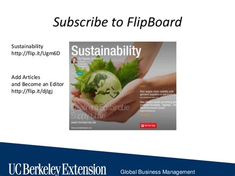 Usf Mba Global Sustainability by Sustainability Ethics Lecture 1 Uc Berkeley Ext