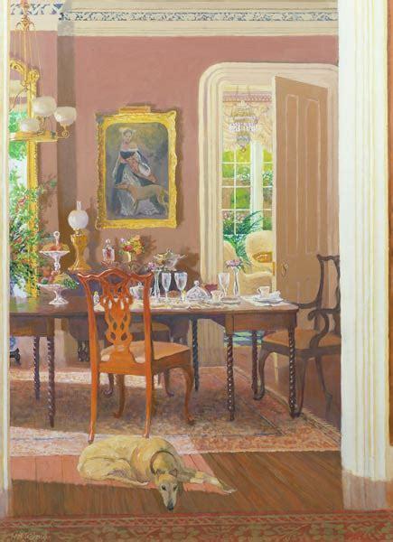 dining room victorian style william ireland  art