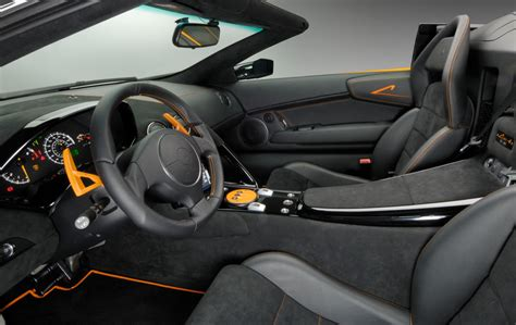 inside lamborghini murcielago lamborghini murcielago lp 650 4 roadster details