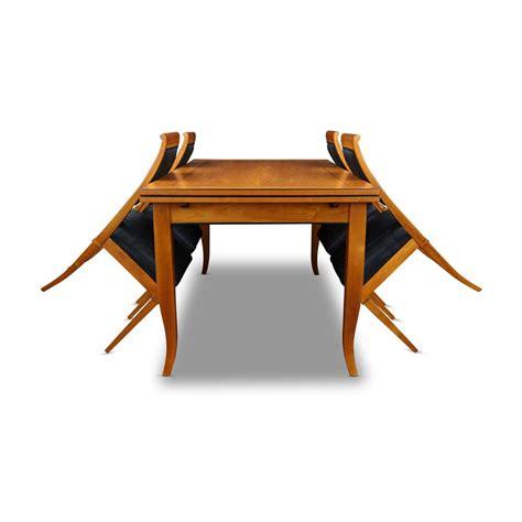 tisch und stehle biedermeier tisch mit st 252 hle kirschbaum