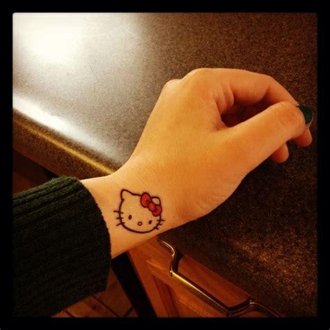 hello kitty tattoo on wrist 12 best hello tat images on