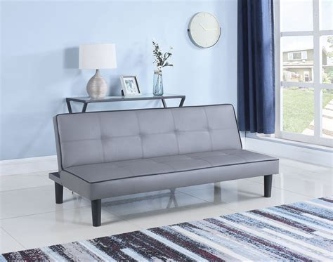 gray sofa bed gray leather sofa bed from coaster coleman furniture