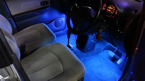 ledstrip auto diy led strip light kit for car youtube