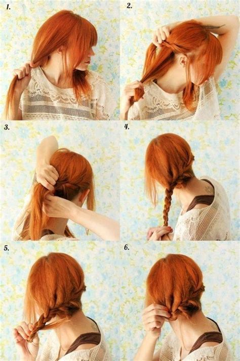 easy braid hairstyles to do yourself do it yourself 10 braided hairstyles for a new romantic look