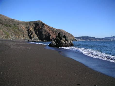 black sand beach california black sand beach california black sands beach picture of