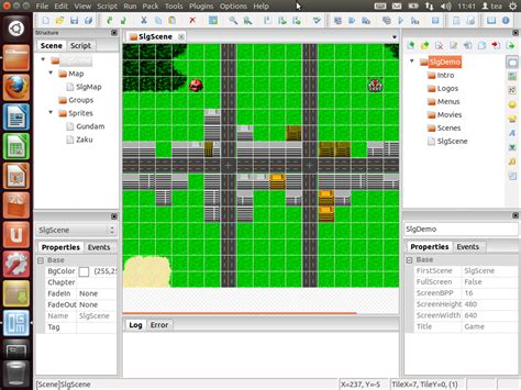 online tutorial game maker linux game development tools and game engines 2d 3d engines