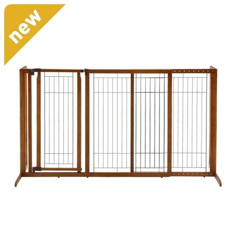 freestanding gate richell large free standing pet gate my sweet blue baby
