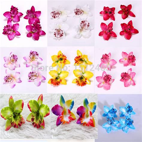 Free Shipping 7 Flower Heads Artificial Flowers Free Shipping 100pcs Lot Wholesale Artificial Silk Flowers