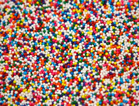 colored sprinkles multi color non pareils 8 lbs
