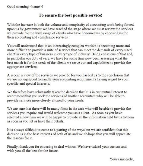 Customer Goodbye Letter How To Say Goodbye Winston Marsh