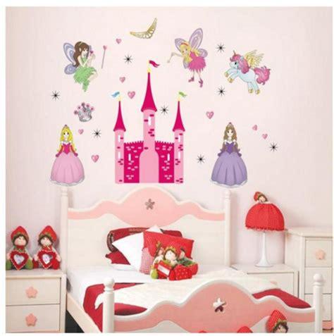 jual wallpaper wall paper sticker tembok princess unicorn