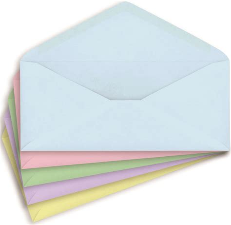 colored envelopes staples 10 pastel colored gummed envelopes 50 pack ebay