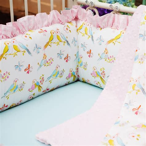 Bird Crib Bedding Birds Crib Bedding Baby Crib Bedding In Birds Carousel Designs