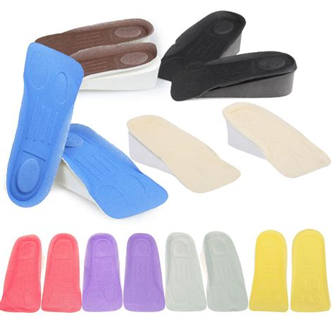 Foam Cushion Inserts For by Unisex Increase Height High Half Insoles Foam Shoe Inserts