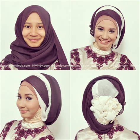 tutorial hijab wisuda trend 2015 10 trend model hijab modern untuk wisuda terbaik