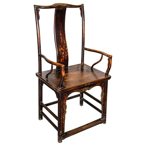 chinese armchair chinese official s armchair for sale at 1stdibs