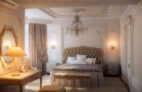 romantic design bedrooms with traditional elegance