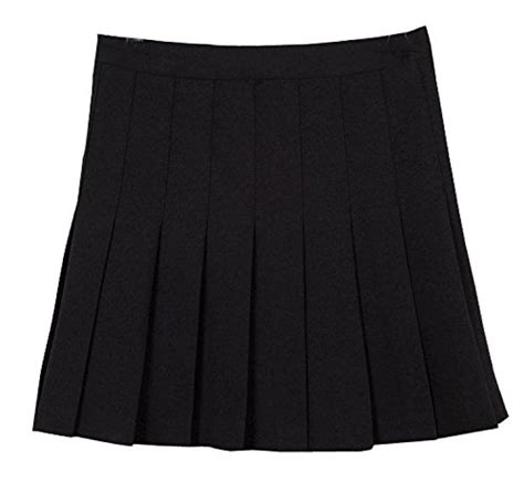 Catenzo Sandal Wanita Ap 012 Black mixmax high waist pleated mini tennis skirt medium