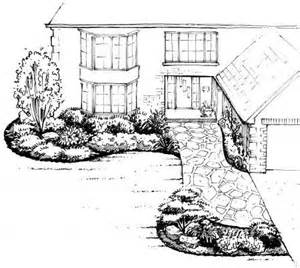 front yard landscape design a sle shopping list 1 landscape ontario com green for life