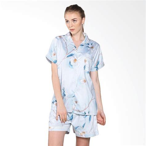 Piyama Baju Tidur Alba Blue jual east piyama japanese cotton dahlia baju tidur