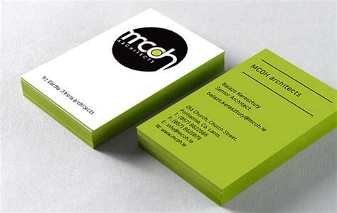 architects business cards mcoh architects business card design inspiration card nerd