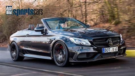 Auto Bild Sportscars Mercedes Amg by Brabus 650 Cabrio Soundcheck Kurzvorstellung Auto