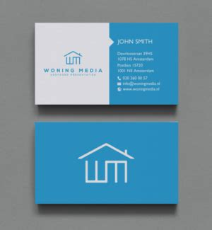 Modern Looking Houses 246 Modern Professional Business Card Designs For A