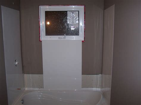 bathtub surround with window actual search result install bathtub surround to images