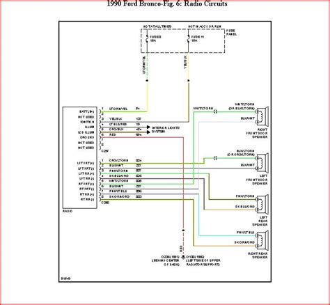 1990 f250 stereo wiring diagram 1990 f250 starter diagram