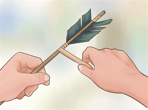How To Make A Bow And Arrow With Paper - how to make a bow and arrow 13 steps with pictures