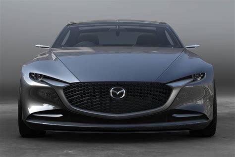 mazda car company mazda vision coupe is leading the car company into the future