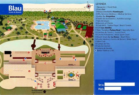 Resort Hotel Floor Plan book online blau varadero hotel varadero images full
