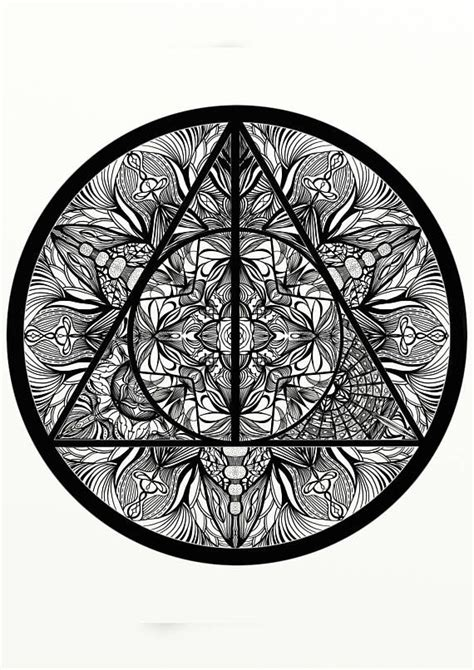 harry potter coloring pages deathly hallows 16 best dovmecilik images on pinterest harry potter