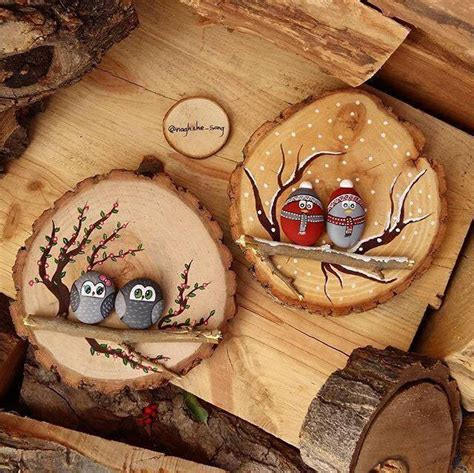 christmas wood projects for adults pinterest diy owl painting icreatived