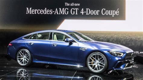 4 Door Coupe by 2019 Mercedes Amg Gt 4 Door Coupe Motor1 Photos