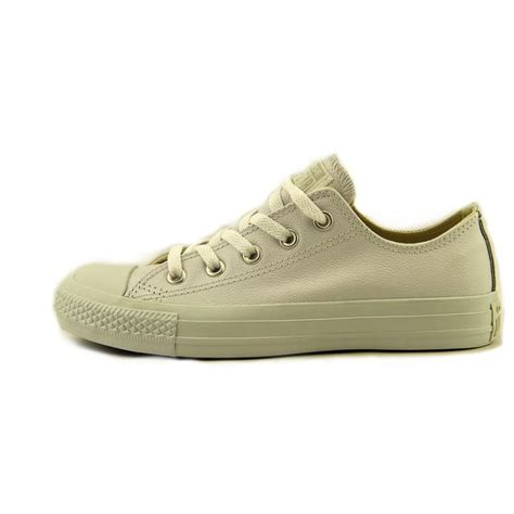 all leather athletic shoes converse all ox leather leather white sneakers