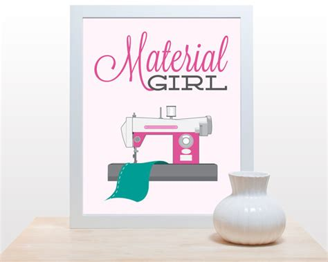 sewing room wall decor items similar to sewing craft print material poster minimal retro sewing craft room