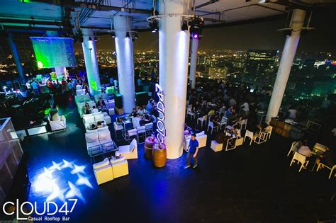 top bar in bangkok cloud47 a new casual dining experience on the biggest