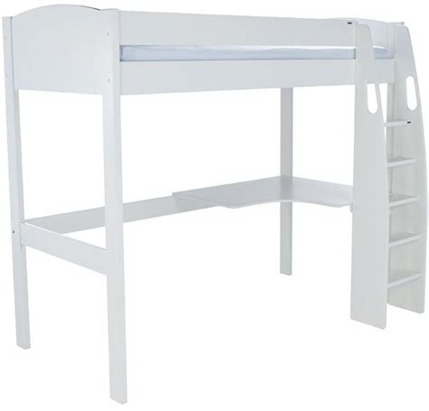 White High Sleeper With Desk by Buy Stompa White High Sleeper With Desk Cfs Uk