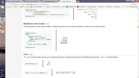 tutorial latex miktex install latex miktex