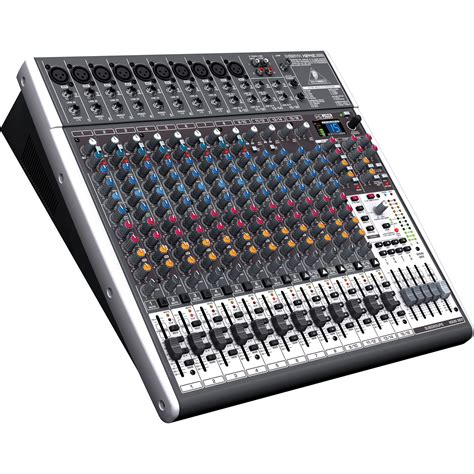 Mixer Audio Behringer 24 Channel behringer xenyx x2442usb 24 input usb audio mixer x2442usb b h
