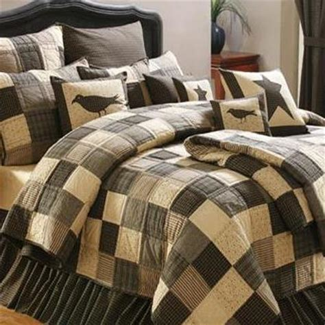 country bedding collections kettle grove plaid patchwork quilt and accessories
