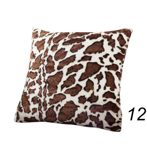 animal print couch covers animal zebra leopard print pillow case waist throw cushion