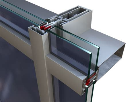 conventional curtain wall system curtain walls systems allumetal