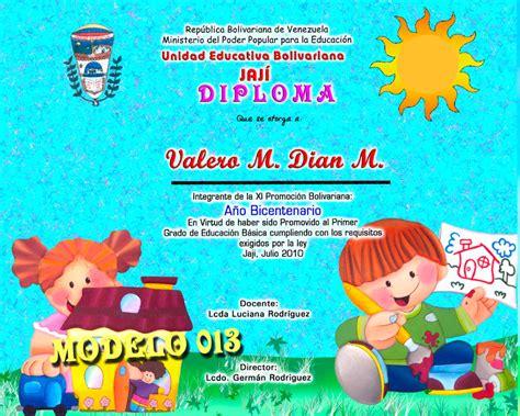 education preescolar diplomas preescolar fotografia y dise 241 o
