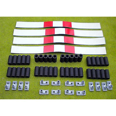 ready made rubber sts slot track scenics pack 3 tyres covers sts a1 3