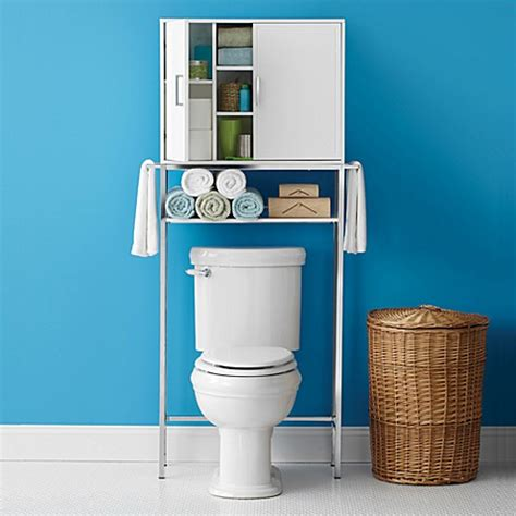 real simple bathroom real simple solutions space saving bath cabinet with